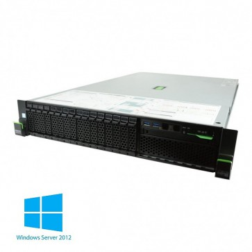 "Fujitsu PRIMERGY RX2540 M1, 2x Intel Xeon E5-2620v3, 64 GB RAM PC4-2133MHz, 2x 300GB SAS 2.5"" 15k, 2x napajalnik + Windows Server 2012 R2 + 10 CAL"