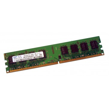 Samsung 2GB 2Rx8 PC2-6400U DDR2 unbuffered RAM Modul - M378T5663QZ3-CF7