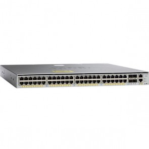 Cisco Catalyst WS-C4948E-F V01 L3 - Switch - 48x 10/100/1000 + 4 x SFP+, 2x PSU