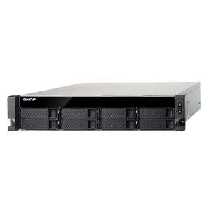 QNAP TS-873U-32G Rack Quad-Core-NAS SATA Storage System with 32 GB DDR4 RAM and 48 TB 7.2K capacity