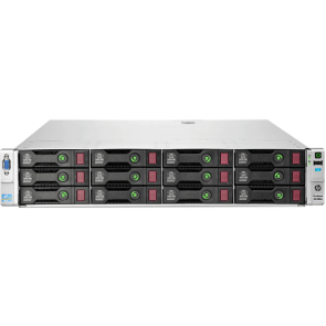 HP ProLiant DL380e Gen8 Storage 2x Xeon E5-2450L, 16 GB DDR3 RAM, P420 1 GB FBWC, 14x LFF 3.5""