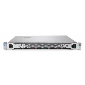 HP ProLiant DL360 Gen9 1x E5-2630 v3 2.4 GHz 8-core, 64 GB RAM, 2x 1.2 TB SAS, 2x napajalnik