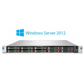 HP ProLiant DL360 Gen9 2x E5-2630 v3 2.4 GHz 8-core, 64 GB RAM, 2x 1.2 TB SAS, 2x napajalnik, Windows Server 2012