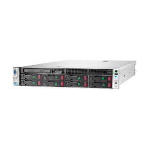 HP ProLiant DL380e Gen8 2x Xeon E5-2450L, 16 GB DDR3 RAM, 2x 1000 GB SAS 7.2K