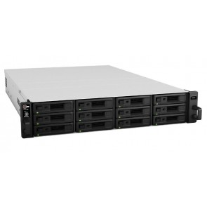 Synology RackStation RS2416+ NAS 4 GB - 12x 8 TB WD RED WD80EFAX (96 TB Storage)