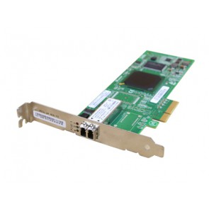 HP QLE2460 Single Port 4 Gbit/s Fibre Channel Host Bus Adapter / FC HBA, PCI-E - 407620-001 - low profile